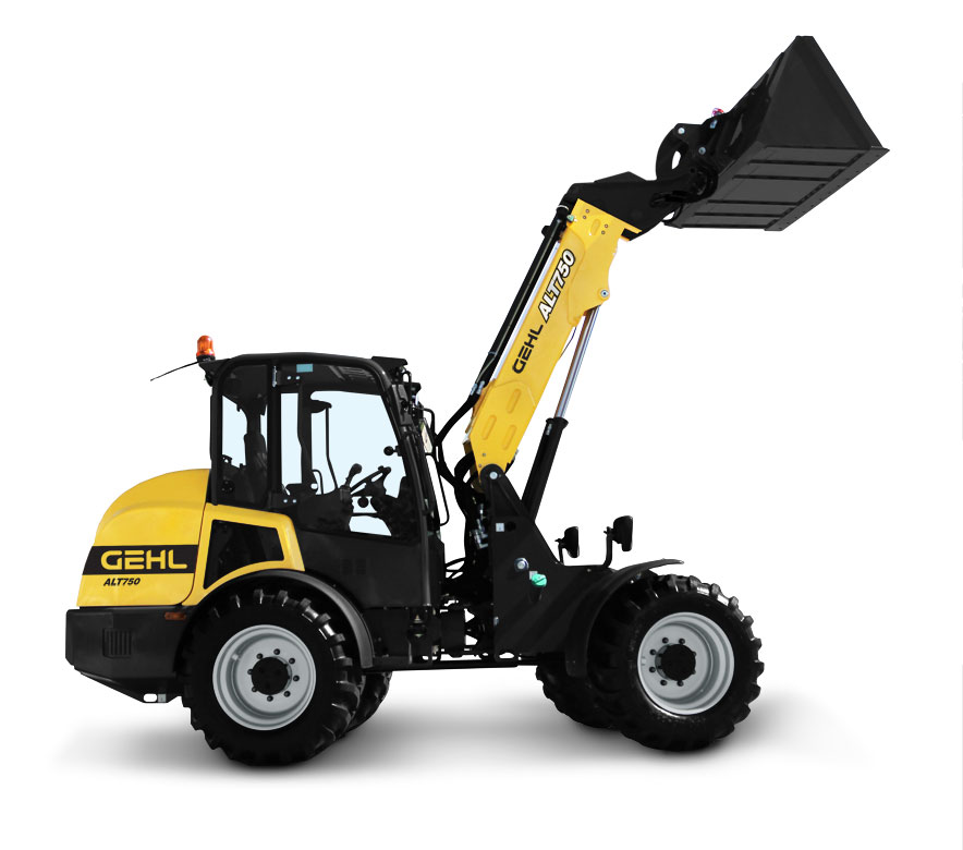 Gehl t750 Hydraulics Articulated Loader